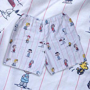 Custom Charlie Brown Peanuts Reworked Shorts